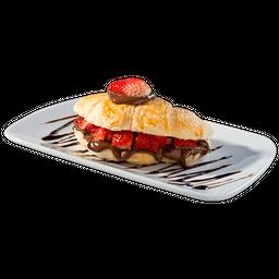 Nutella com Morango