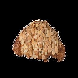 Croissant com Creme de Amêndoas
