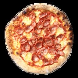 Pizza individual de calabresa