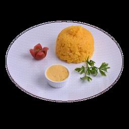 Cuscuz Tradicional com Manteiga