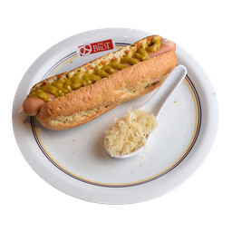 Hot Dog Com Chucrute