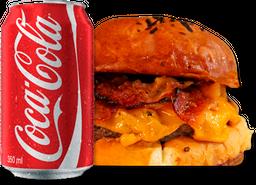Cheddar Bacon Lab + Refrigerante