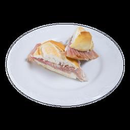 Sanduíche de Presunto Cru