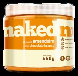 Pasta Naked Nuts Amendoim Com Chocolate Branco 450 g