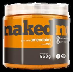 Pasta Naked Nuts Amendoim Com Mel 450 g