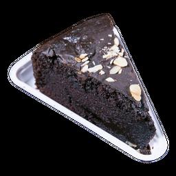 Bolo De Chocolate Vegano Com Amêndoas