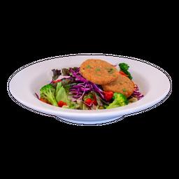 Falafel e Salada