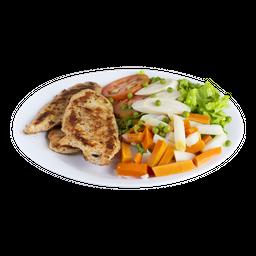 PF Filé de Frango e Salada Russa