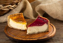 Cheesecake de Frutas Vermelhas - Fatia