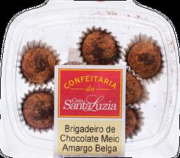 Brigadeiro de Chocolate Meio Amargo Belga Com 8 U
