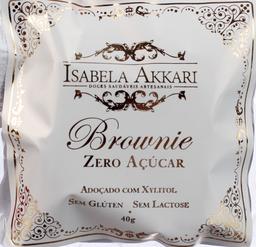 Brownie I.Akk Sem Glúten Sem Açúcar 40 g