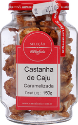 Castanha de Caju Santa Luzia Carameliza 150 g