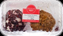 Duo Melba Cranberry e Pistache 280 g