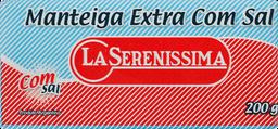 Manteiga La Serenissima Com Sal 200 g