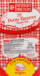 Manteiga Paysan Breton Com Sal 20 U 10 g