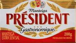 Manteiga President Sem Sal 200 g