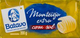 Manteiga Em Barra Batavo Com Sal 200 g
