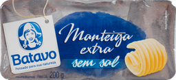 Manteiga Batavo Sem Sal 200 g