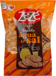 Biscoito Zezé Água E Sal 200 g