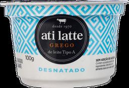 Iogurte Atilatte Grego Tradicional Desnatado 100 g