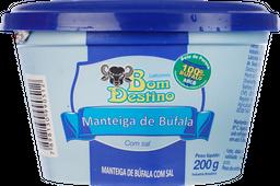Manteiga De Búfala Bom Destino Com Sal 200 g