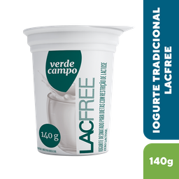 Iogurte Verde Campo Lacfree Natural 140 mL