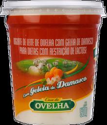 Iogurte Casa Da Ovelha Light Com Geléia De Damasco 500 g