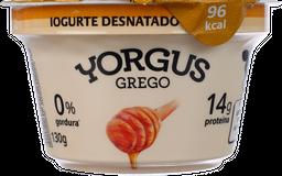 Iogurte Yorgus Grego Com Mel 130 g