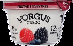 Iogurte Yorgus 0% Grego Frutas Silvestres 130 g