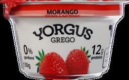 Iogurte Yorgus Grego Sem Lactose Morango 130 g