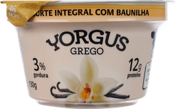 Iogurte Yorgus Grego Integral Baunilha 130 g