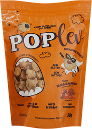 Snack Pop Lev Sem Glúten Páprica 50 g