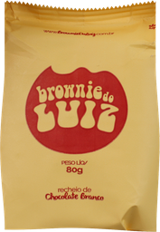 Brownie Luiz Chocolate Branco 80 g