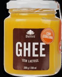 Manteiga Ghee Benni Sem Lactose Curcuma 200 g