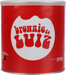 Brownie Luiz Lata 300 g