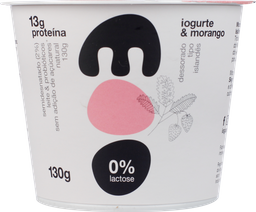 Iogurte Moo Morango Sem Lactose 130 g