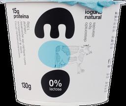 Iogurte Moo Natural Sem Lactose 130 g