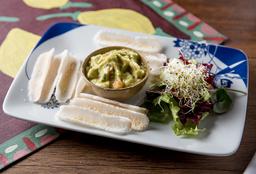 Guacamole com Beiju de Tapioca