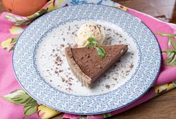 Torta de Marzipã e Chocolate