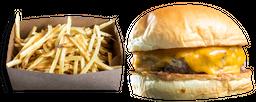 Combo Cheeseburger + Batata Frita