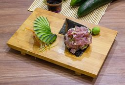 Temaki de Atum com Cream Cheese