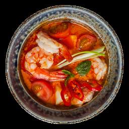 Curry Vermelho Camarão