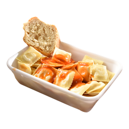 Ravióli Artesanal Vegan de Espinafre