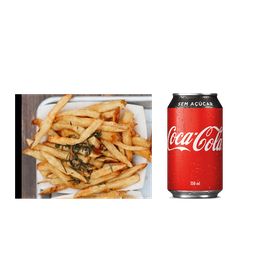 House Fries + Coca-Cola Lata