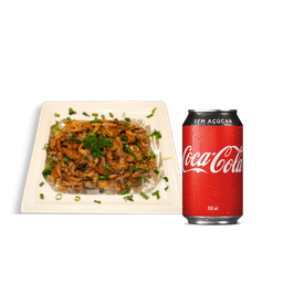 Shimeji no Alumínio + Coca-Cola Lata