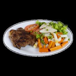 Salada Com Grelhado