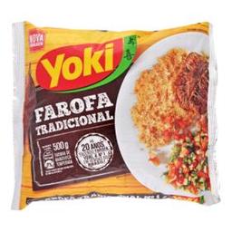 Farofa Pronta Temperada Yoki Tradicional 500 g