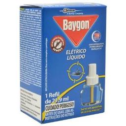 Baygon Inseticida Elétrico Líquido 30 Noites Mais Refil 21