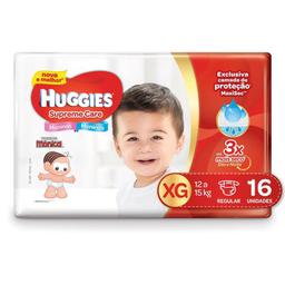 Huggies Fralda Descartável Supreme Care Xg Pacote