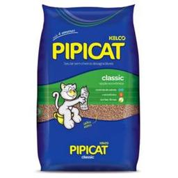 Areia Higiênica Para Gatos Pipicat Classic 4 Kg